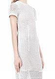 ALEXANDER WANG FITTED CROCHET TEE DRESS KNIT DRESS Adult 8_n_a