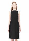 ALEXANDER WANG BOAT NECK DRESS WITH BRA STRAP DETAIL Short Dress Adult 8_n_d