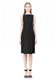 ALEXANDER WANG BOAT NECK DRESS WITH BRA STRAP DETAIL Short Dress Adult 8_n_f