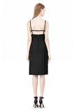 ALEXANDER WANG BOAT NECK DRESS WITH BRA STRAP DETAIL Short Dress Adult 8_n_r