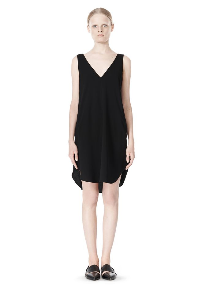 T-strap dress - Black Alexander Wang gjtpkw