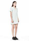 T by ALEXANDER WANG DRAPE SUITING VNECK DRESS Short Dress Adult 8_n_e