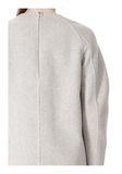 ALEXANDER WANG SWEATSHIRT DRESS WITH SHIRT TAIL HEM 3/4 length dress Adult 8_n_a