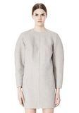 ALEXANDER WANG SWEATSHIRT DRESS WITH SHIRT TAIL HEM 3/4 length dress Adult 8_n_d