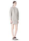 ALEXANDER WANG SWEATSHIRT DRESS WITH SHIRT TAIL HEM 3/4 length dress Adult 8_n_e