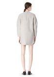 ALEXANDER WANG SWEATSHIRT DRESS WITH SHIRT TAIL HEM 3/4 length dress Adult 8_n_r