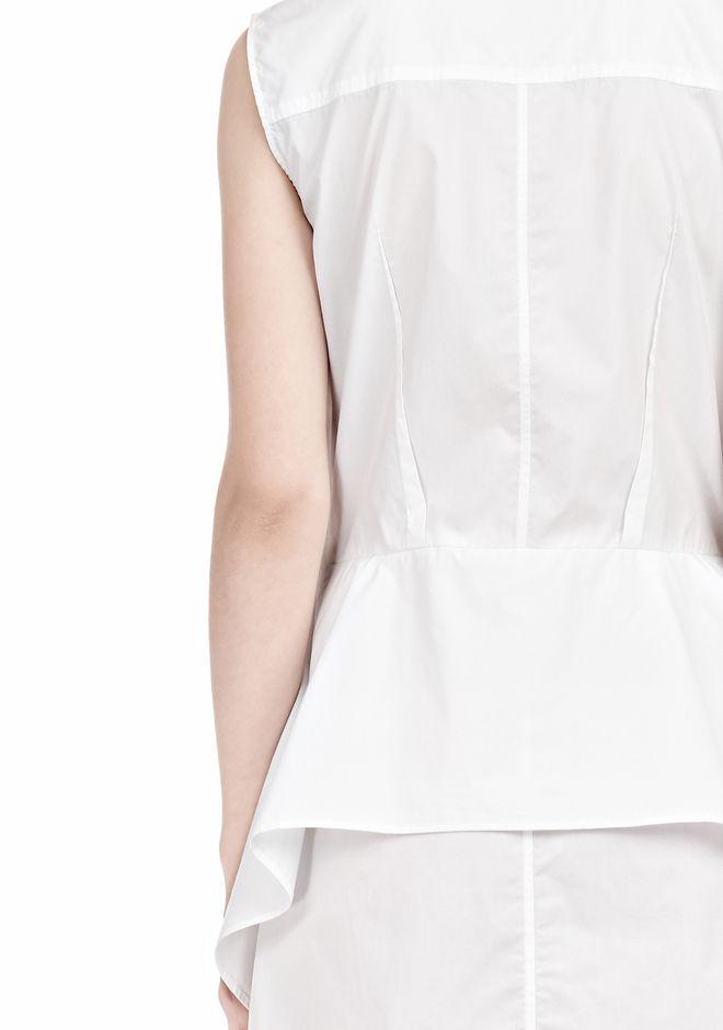 ALEXANDER WANG DOUBLE SLEEVE POPLIN SHIRTDRESS  Short Dress Adult 12_n_d