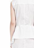ALEXANDER WANG DOUBLE SLEEVE POPLIN SHIRTDRESS  Short Dress Adult 8_n_d