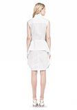 ALEXANDER WANG DOUBLE SLEEVE POPLIN SHIRTDRESS  Short Dress Adult 8_n_r
