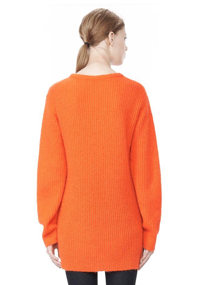 T by ALEXANDER WANG MOHAIR KNIT TUNIC DRESS TOP Adult 12_n_d