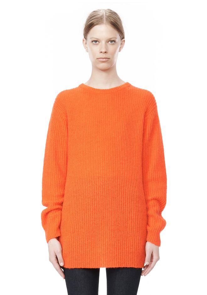 T by ALEXANDER WANG MOHAIR KNIT TUNIC DRESS TOP Adult 12_n_e