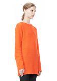 T by ALEXANDER WANG MOHAIR KNIT TUNIC DRESS TOP Adult 8_n_a