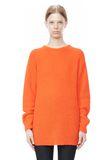 T by ALEXANDER WANG MOHAIR KNIT TUNIC DRESS TOP Adult 8_n_e