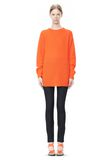 T by ALEXANDER WANG MOHAIR KNIT TUNIC DRESS TOP Adult 8_n_f