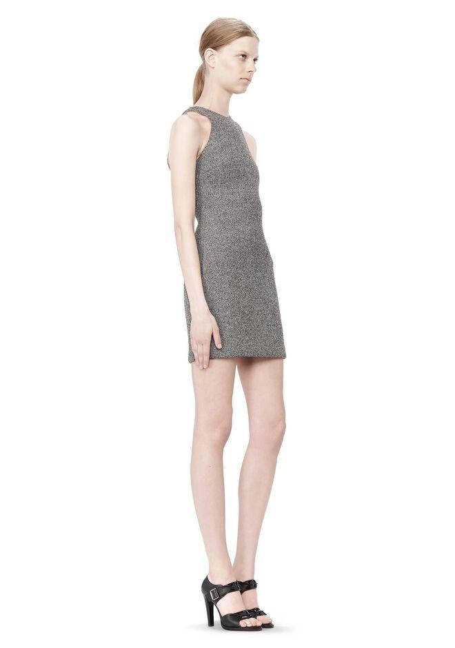 T by ALEXANDER WANG MESH BONDED NEOPRENE SLEEVELESS DRESS Short Dress Adult 12_n_e