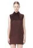 ALEXANDER WANG SHORT SLEEVE TUNIC DRESS WITH SHIRT COLLAR Short Dress Adult 8_n_d