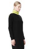 ALEXANDER WANG SPLITTABLE TURTLENECK DRESS KNIT DRESS Adult 8_n_a