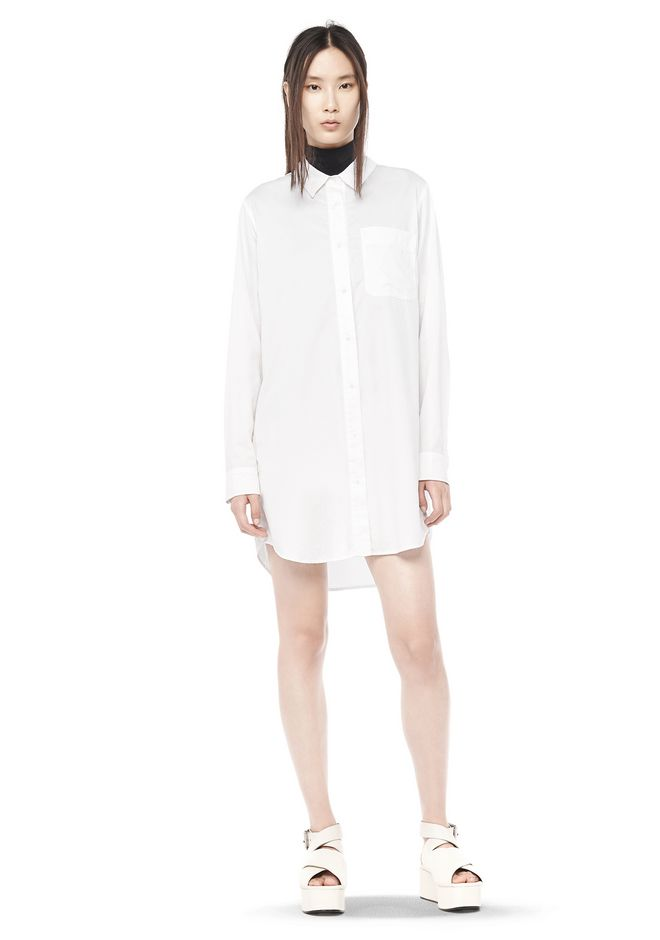 Popular Sale Online T By Alexander Wang Woman Cotton-twill Shirt White Size 2 Alexander Wang Find Great For Sale Free Shipping Buy nm8XqDY