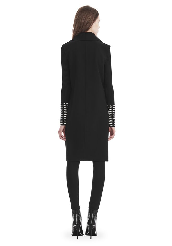 ALEXANDER WANG OVERSIZED LONG VEST JACKETS AND OUTERWEAR  Adult 12_n_r