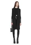 ALEXANDER WANG OVERSIZED LONG VEST JACKETS AND OUTERWEAR  Adult 8_n_f