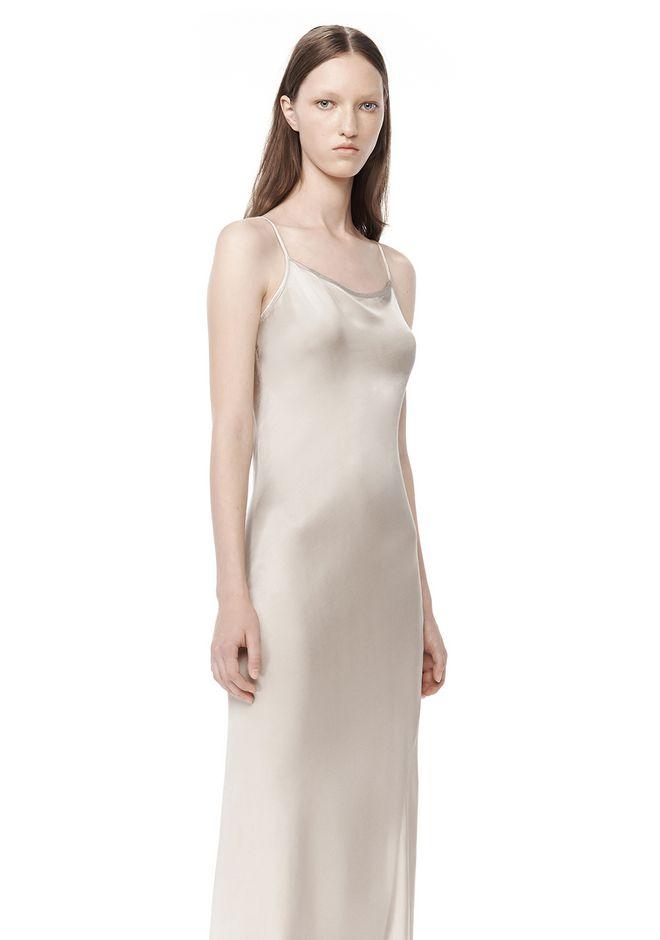 T By Alexander Garment Dyed Slip Dress Long 12 N D