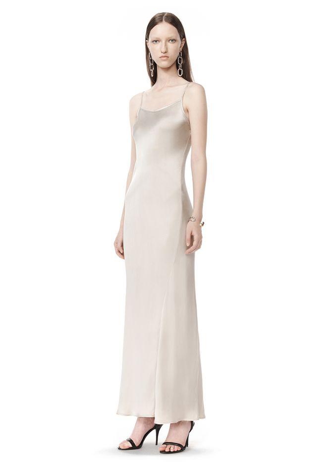 T By Alexander Garment Dyed Slip Dress Long 12 N F