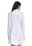 ALEXANDER WANG PEPLUM SHIRT DRESS  3/4 length dress Adult 8_n_d