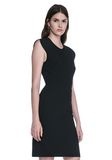 ALEXANDER WANG FITTED PENCIL DRESS WITH CAP SLEEVE  AND CONTOURED SEAMS 3/4 length dress Adult 8_n_a