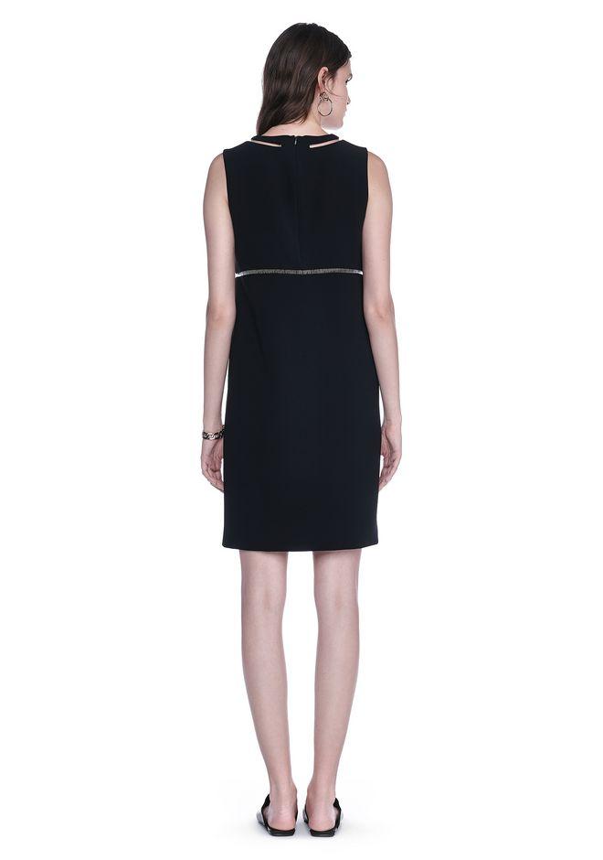 ALEXANDER WANG FISH LINE STRAIGHT CUT DRESS  Short Dress Adult 12_n_r