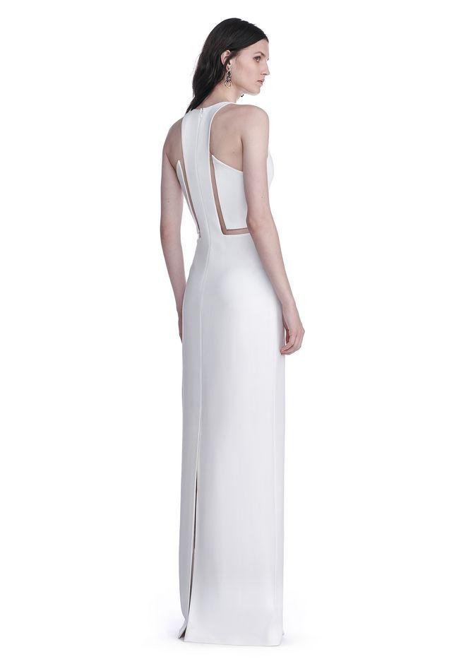 ALEXANDER WANG V-NECK FISHLINE GOWN Long dress Adult 12_n_d