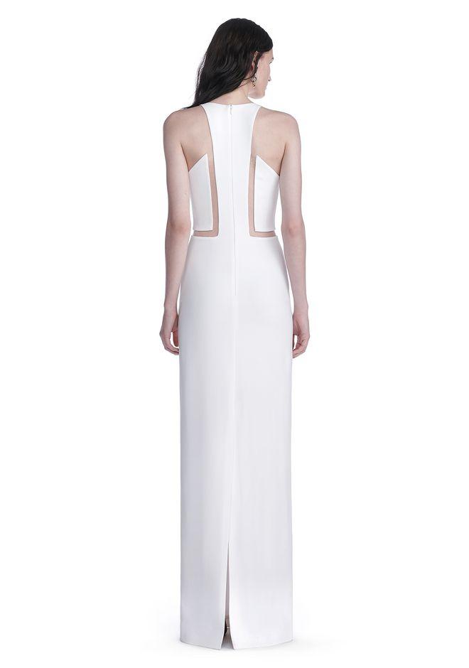 ALEXANDER WANG V-NECK FISHLINE GOWN Long dress Adult 12_n_r