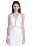 ALEXANDER WANG V-NECK FISHLINE GOWN Long dress Adult 8_n_a