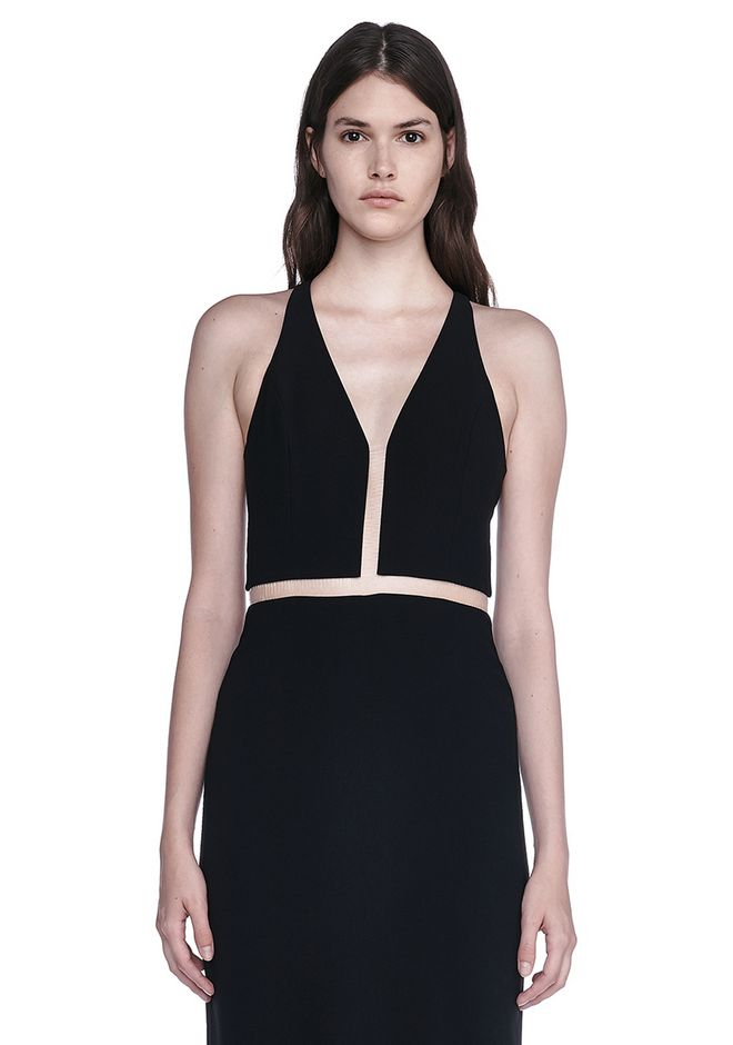 ALEXANDER WANG V-NECK FISHLINE GOWN Long dress Adult 12_n_a