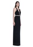 ALEXANDER WANG V-NECK FISHLINE GOWN Long dress Adult 8_n_d