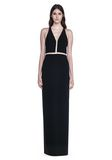 ALEXANDER WANG V-NECK FISHLINE GOWN Long dress Adult 8_n_e