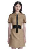 ALEXANDER WANG SHORT SLEEVE SAFARI DRESS Short Dress Adult 8_n_e