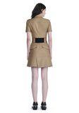 ALEXANDER WANG SHORT SLEEVE SAFARI DRESS Short Dress Adult 8_n_r
