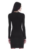 T by ALEXANDER WANG TWIST FRONT LONG SLEEVE DRESS Short dress Adult 8_n_d