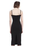 T by ALEXANDER WANG SLEEVELESS FITTED MIDI DRESS 3/4 length dress Adult 8_n_d