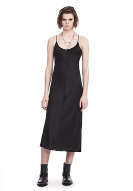 SILK CHARMEUSE SLIP DRESS