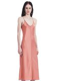 T by ALEXANDER WANG SILK CHARMEUSE SLIP DRESS 3/4 length dress Adult 8_n_a