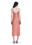 T by ALEXANDER WANG SILK CHARMEUSE SLIP DRESS 3/4 length dress Adult 8_n_r