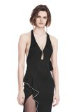 ALEXANDER WANG GOWN WITH ASYMMETRIC BALL CHAIN FLOUNCE 长款连衣裙 Adult 8_n_a