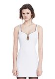 ALEXANDER WANG EXCLUSIVE SHEATH DRESS WITH BALL CHAIN NECKLINE 短款连衣裙 Adult 8_n_e
