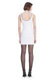 ALEXANDER WANG EXCLUSIVE SHEATH DRESS WITH BALL CHAIN NECKLINE 短款连衣裙 Adult 8_n_r