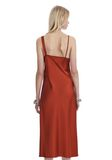 T by ALEXANDER WANG SATIN SLEEVELESS KNOT FRONT DRESS Short Dress Adult 8_n_d
