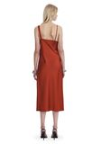 T by ALEXANDER WANG SATIN SLEEVELESS KNOT FRONT DRESS Short dress Adult 8_n_r