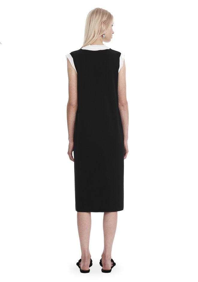 T by ALEXANDER WANG SLEEVELESS V-NECK DRESS  Short dress Adult 12_n_r