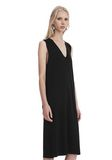 T by ALEXANDER WANG SLEEVELESS V-NECK DRESS  Short dress Adult 8_n_a