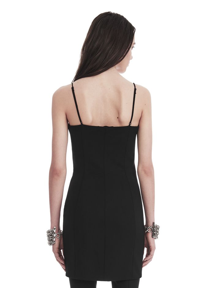 ALEXANDER WANG TAILORED MINI DRESS WITH  BARTACK DETAIL Short dress Adult 12_n_d